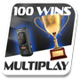 100 multiplayer wins