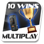 10 multiplayer wins